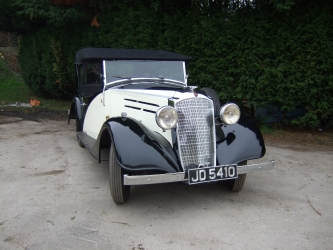 Vauxhall Dx 1935 Pool Lane Classics